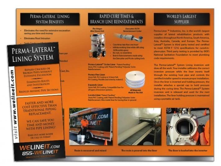 effective brochure examples