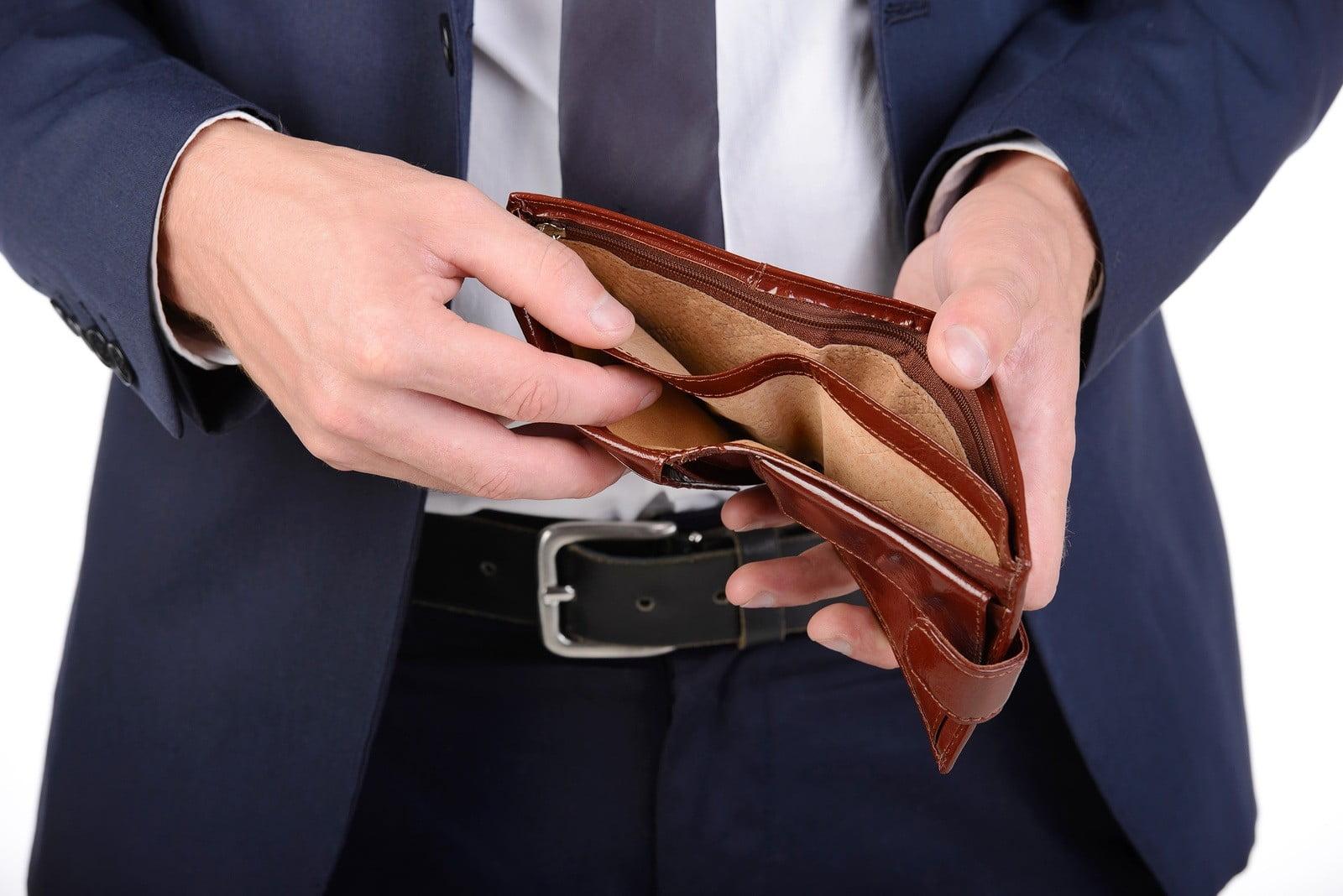 Если у закончились деньги что делать