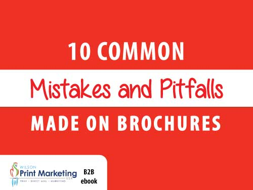 10 common mistakes in brochures ebook