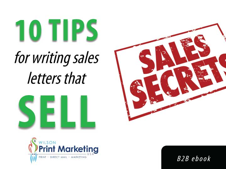 sales letters that sell ebook