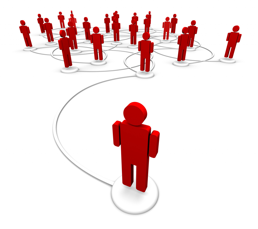 bigstock-Network-Of-People--Communicat-25265636
