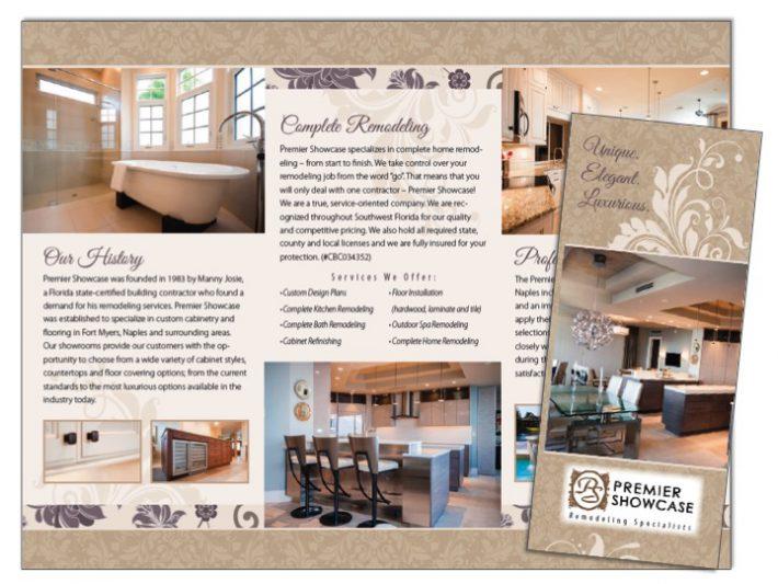 General Contracting Roofing Brochure Samples Wilson