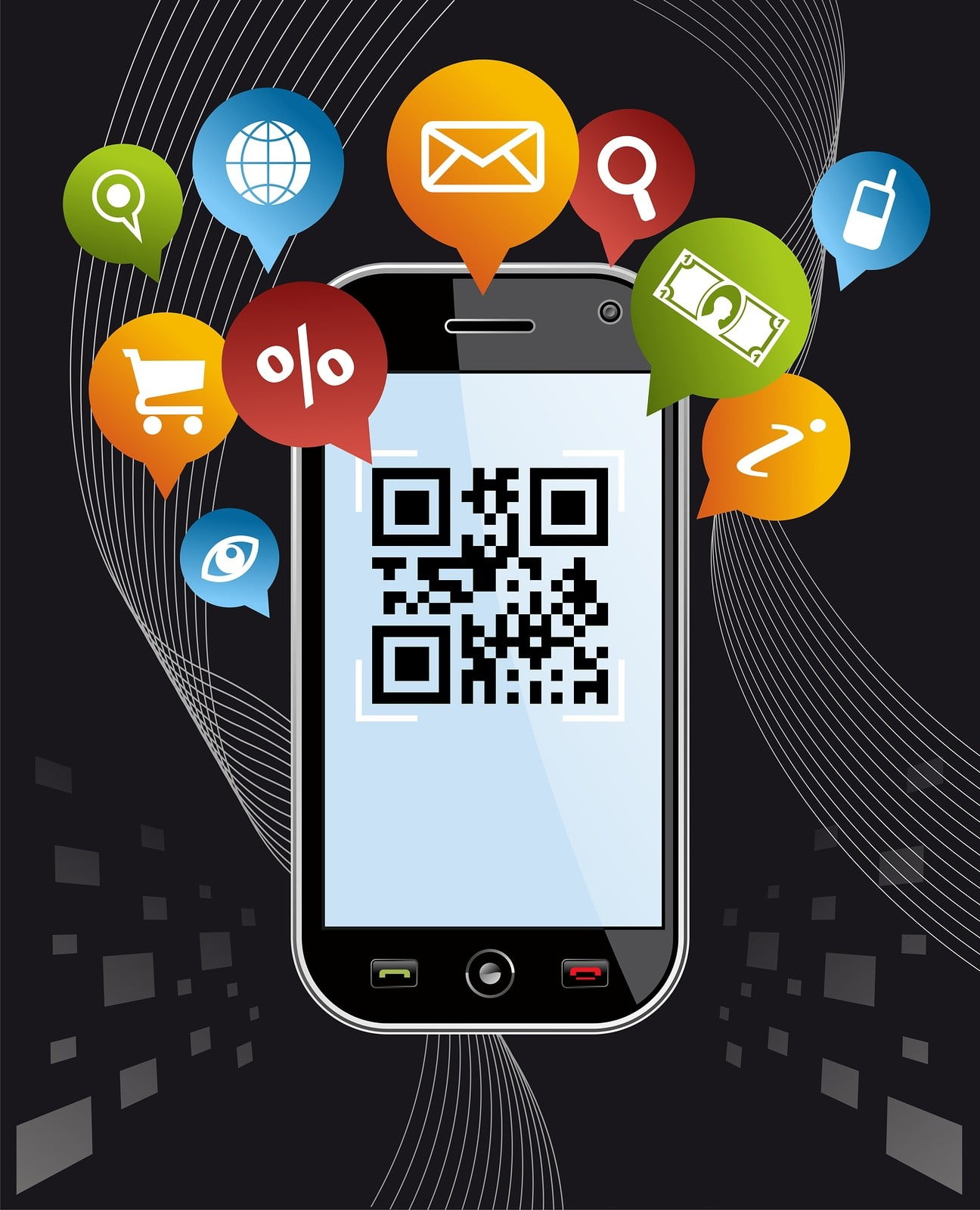 how to get qr into phone