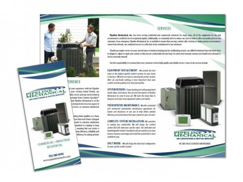 Heating & Air Brochure Sample