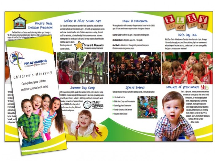 Church OutreachProgram Brochure Samples  Wilson Printing Usa