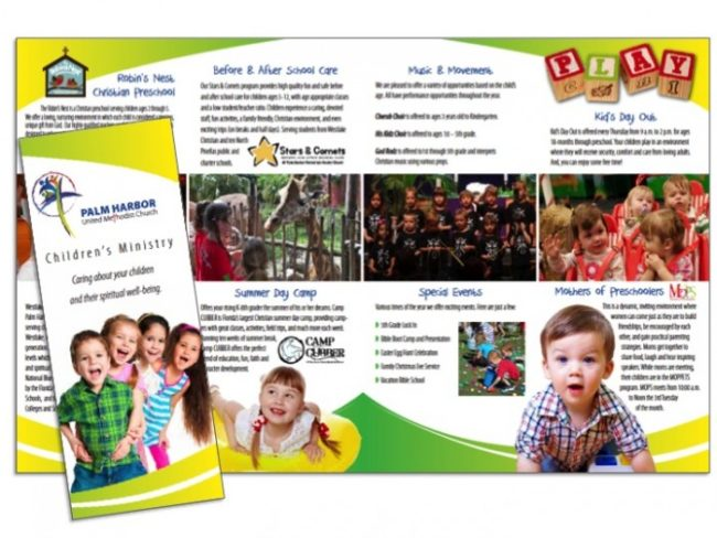 Best Sample Preschool Brochure Pictures  Best Resume Examples By