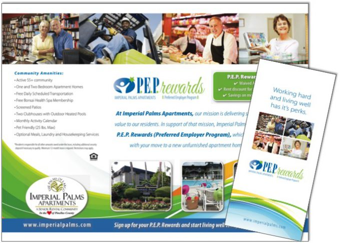 assisted living retirement community brochure samples wilson printing usa wilson printing usa