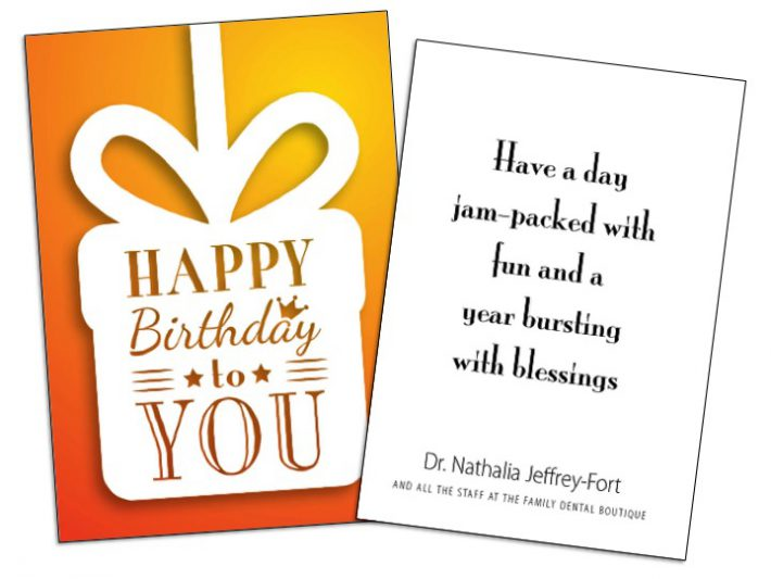 Can Mailing Birthday Cards For Business Clients Improve Customer