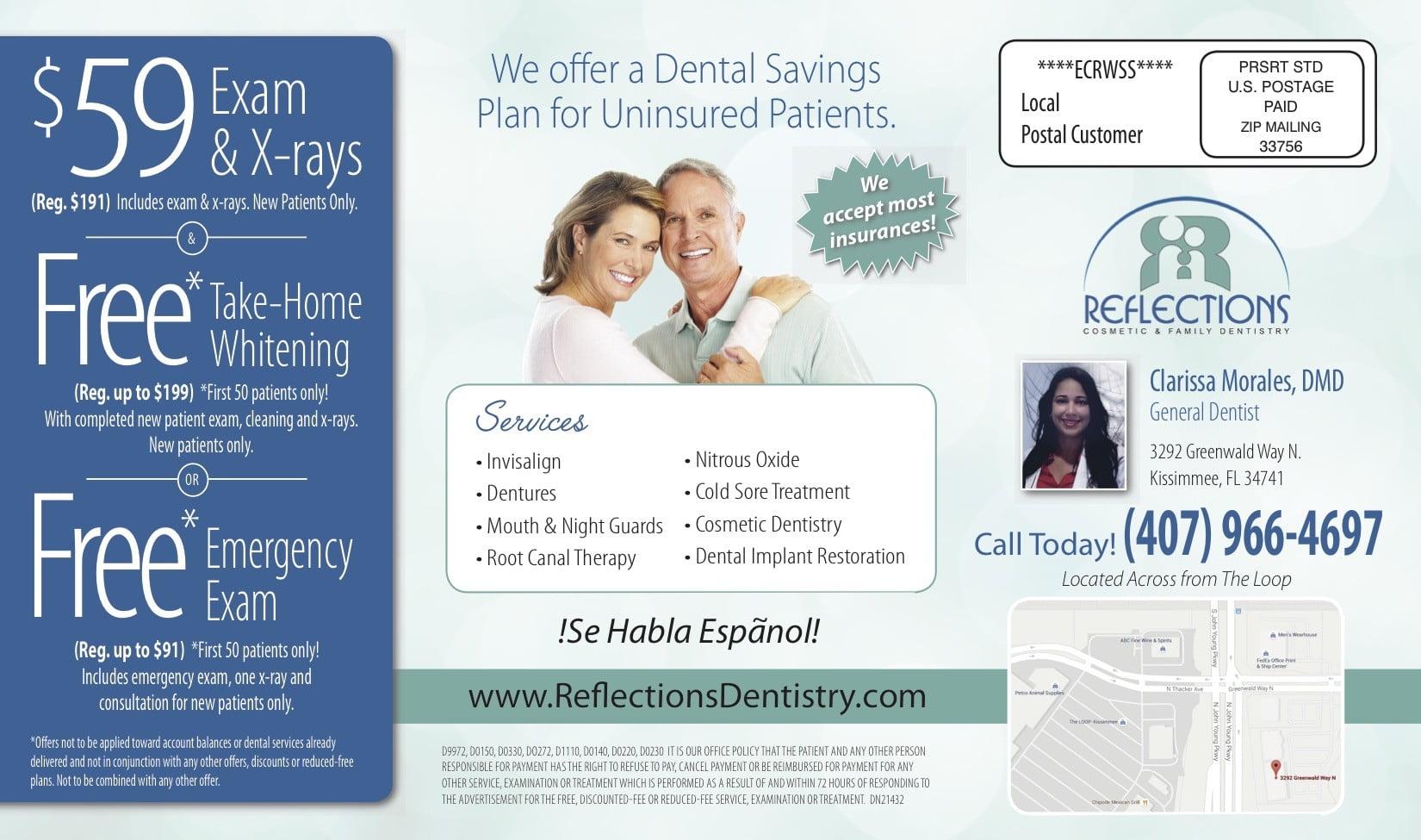 Dental postcard sample 4 wilson printing usa wilson printing usa learning marketing tips altavistaventures Choice Image