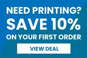 10% off your first order of printing